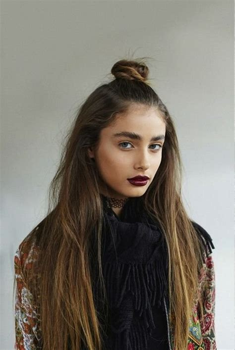 half up bun hairstyles tumblr 17 trendy half bun hairstyles for 2016 pretty designs