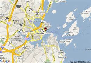 Google Maps Portland Maine by Map Of Hilton Garden Inn Portland Downtown Waterfront