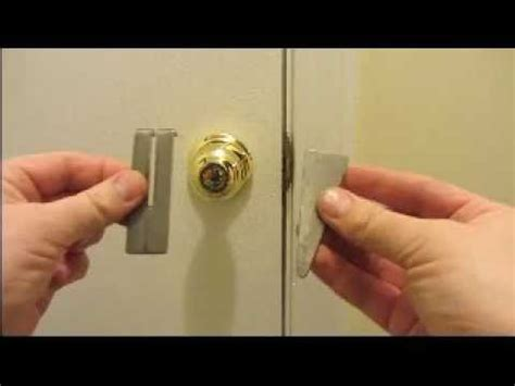 How To Add A Lock To A Drawer by Portable Door Lock Ez Simple