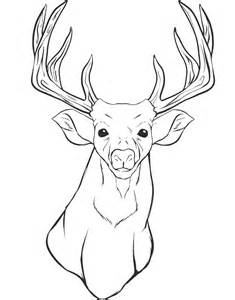 deer fighting coloring pages images