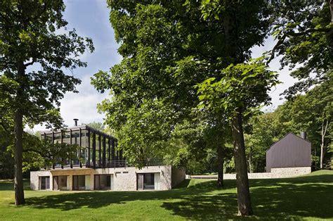 robert  wiley house originally designed  philip johnson