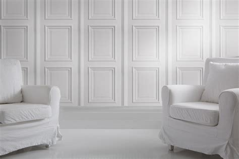 iron white panelling bookcase wallpaper no problem by