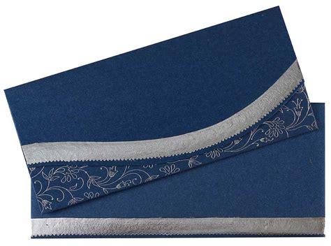 royal blue  silver colour wedding invitation wedding