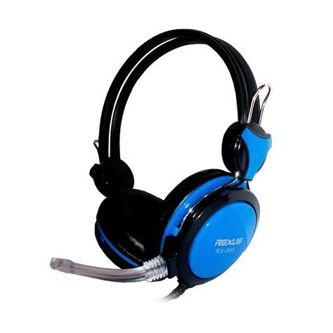 Headset Gaming Mic Rexus Rx 995 jual rexus rx 995 blue gaming headset harga