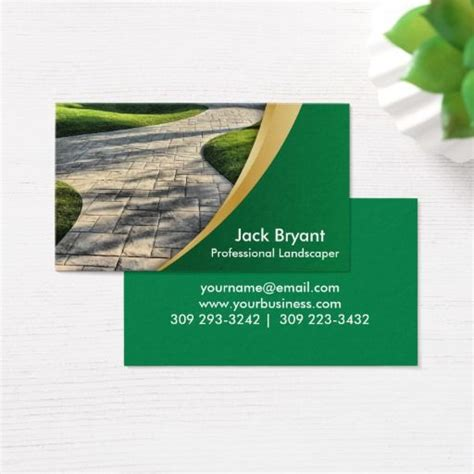 landscape card template 135 best images about landscaping business cards on