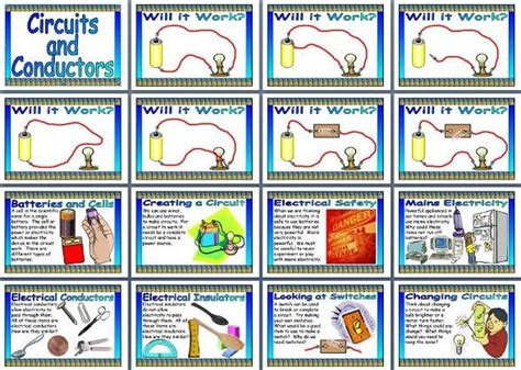 primary resources electrical conductors 17 best images about electricity displays on free printable display lettering and