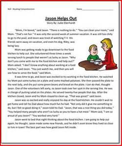 third grade reading passages kristal project edu hash