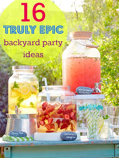 backyard party menu ideas summer backyard parties on pinterest bubble machine
