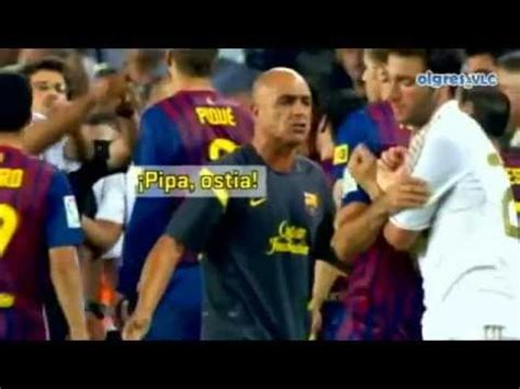 imagenes comicas barcelona real madrid pelea de barcelona vs real madrid youtube