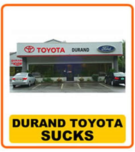 Durand Toyota Who Durand Toyota Ford