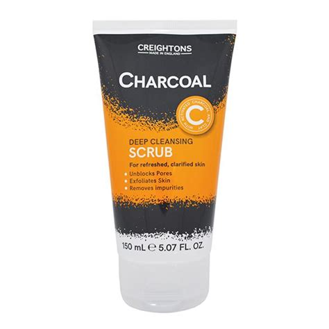 Hair Chemist Charcoal Detox Shoo Reviews by Creightons Charcoal Cleansing Scrub 150ml