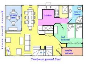 Tree House Floor Plans by Treehouse Amp Treetops