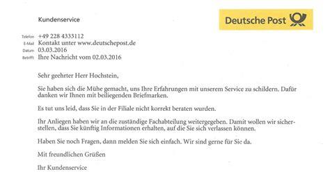 Musterbrief Beschwerde Dhl Spa 223 Mit Der Deutschen Post Netz Rettung Recht