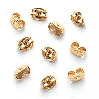 14k gold filled earring backs 5 pairs ear nuts
