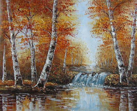 Landscape On Canvas Quot Handmade Painting On Canvas Landscape Quot By Zeng