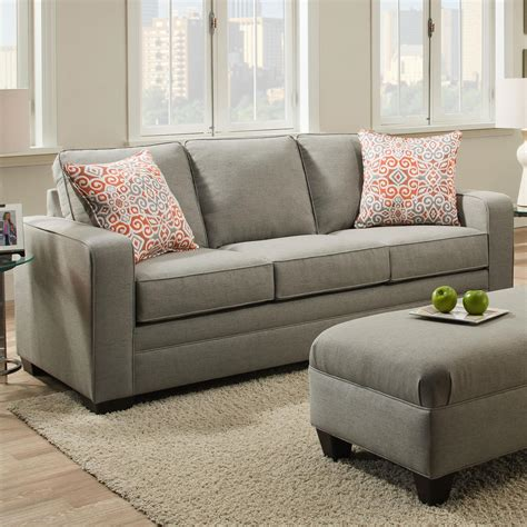 Sofa Industry by United Furniture Industries 9064 United Transitional