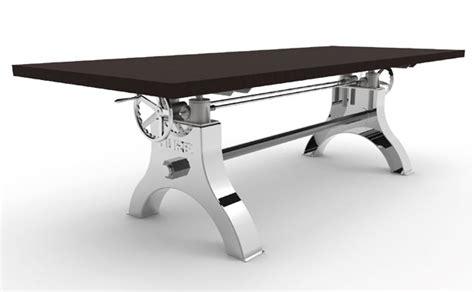 Wood Braylen Adjustable Height Work Height Adjustable Dining Table Interesting Impressive