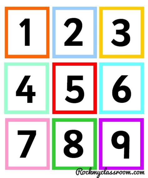 printable math number cards free download numicon number cards pre k pinterest