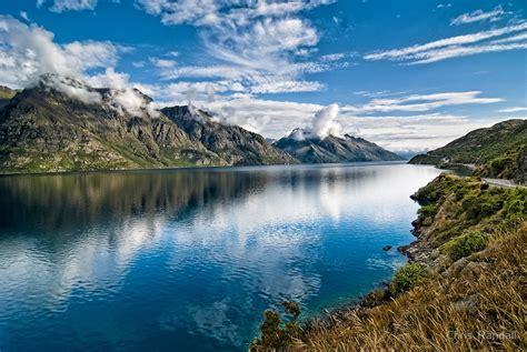 Wall Art Australia Stickers quot beautiful lake wakatipu new zealand quot by chris randall