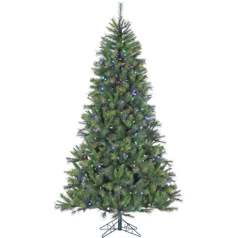 12 ft canyon pine christmas tree with multi color led