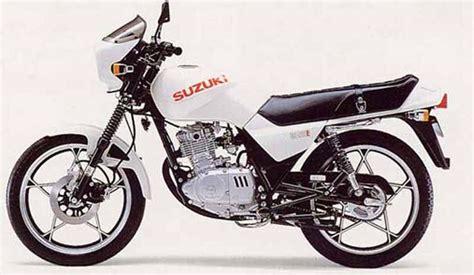 Suzuki Gs125 Suzuki Gs125 1982 2000 Review Mcn