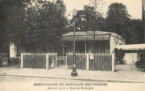 les pavillons du bois de boulogne en 1900