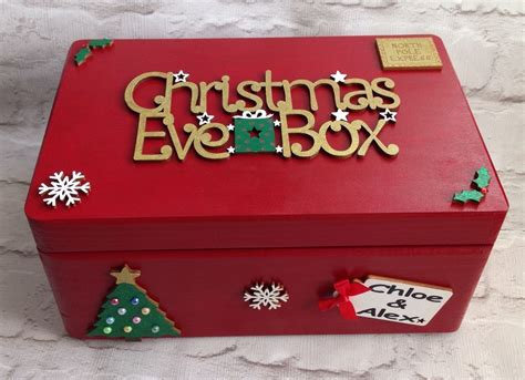 personalised christmas eve box 163 34 95 picclick uk