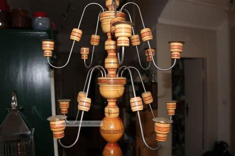 10 armige erzgebirgische spinne deckenleuchter holz metall - Deckenleuchter Holz