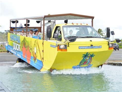 duck boat tours parking honolulu city hawaii duck tour optional pearl harbor