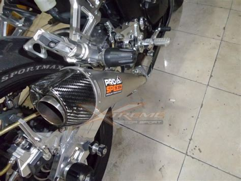 Knalpot Prospeed Shark Black Series 250fi 250 Fi Z250 xtrememotor shop