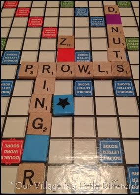 can you use plurals in scrabble our is a different scrabble crossword
