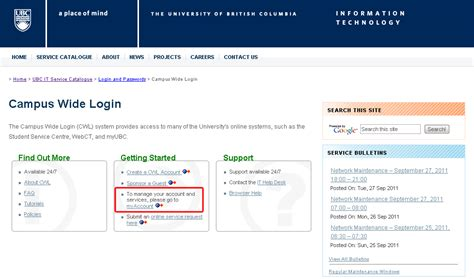 Mba Login My Account by Activating Your Sauder Computer Lab Account Ubc Sauder