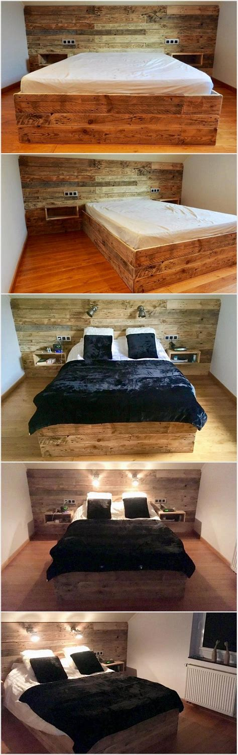 headboards made from our old dock sections with wired classic ideas for wood pallet repurposing pallet wood