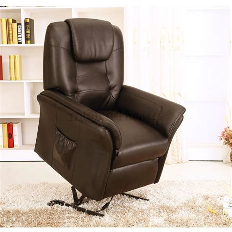 real leather armchair windsor brown electric rise recliner real leather armchair