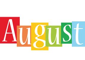 august colors august logo name logo generator kiddo i colors