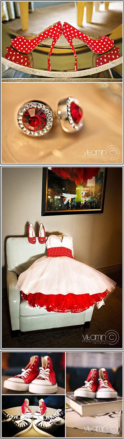 Vintage Wedding Hair Las Vegas by Rockabilly Retro Flare Wedding Church Of The West