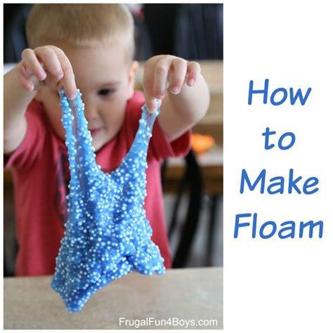 tutorial slime foam how to make floam foam slime how to make
