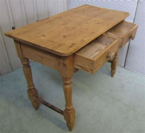 rustic pine writing desk rustic pine writing desk side table wash stand
