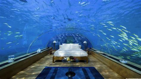 underwater bedroom in maldives the conrad hotel in the maldives has the wickedest