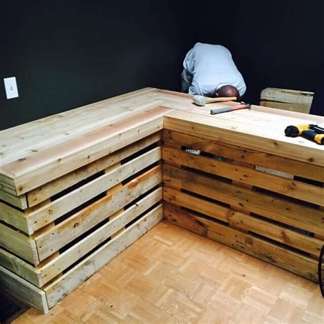 murphy craft table spaces craft and pallets wooden pallet diy project ideas for the beginners pallet