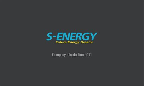 Company Introduction Letter Ppt designer song s s energy company introduction ppt