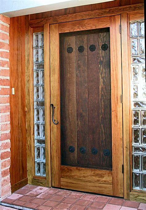 rustic door  screen wgh woodworking