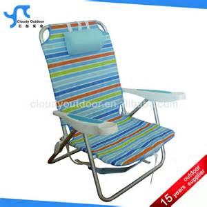 plage appuie t 234 te sac 224 dos chaise pliante chaise pliante