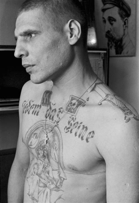 criminal tattoos decoding the meaning russian prison tattoos