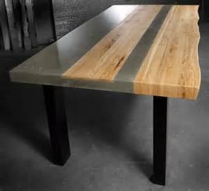 tisch beton beton tisch eine originelle einrichtungsidee archzine net