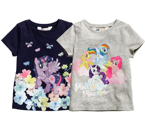 newborn t shirt pattern h m my little pony baby toddler girl short sleeve tee t