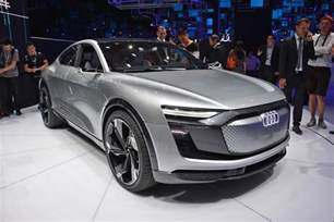 Future Electric Cars Audi E Sportback Concept Previews Audi Electric Car Coming