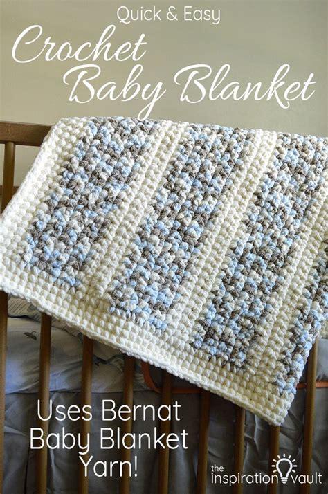 crochet pattern using bernat blanket yarn quick easy crochet baby blanket blanket yarn crochet