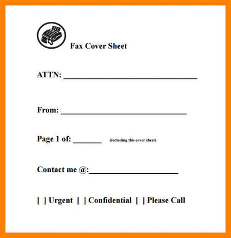 4 how to make a fax cover sheet fancy resume