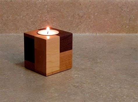 Wooden Candle Stand by 21 23 Stunning Wooden Candle Holders And Candle Holder